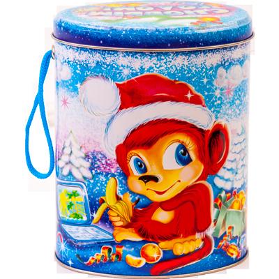 Новогодние подарки в упаковке мягкая игрушка